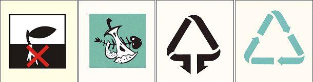 请看下面四种生活垃圾分类标识,你分清他们分别是什么了么?