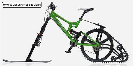 雪地自行车设计